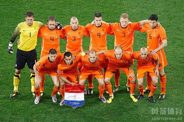 荷兰队没有拿到过世界杯的冠军