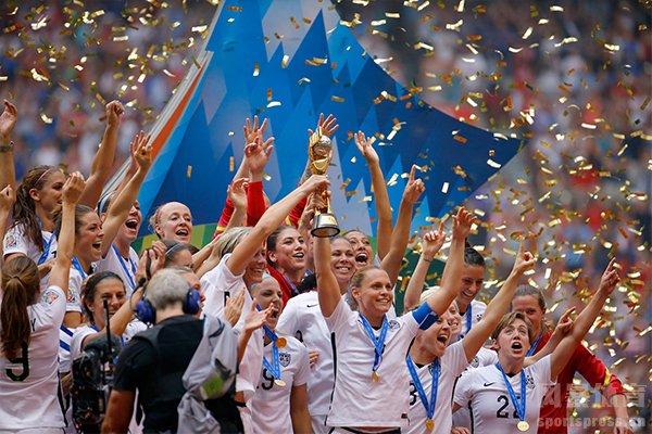 2015女足世界杯冠军是美国队