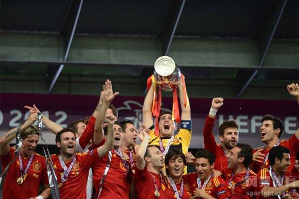 近些年西班牙队在欧洲杯获得了两座冠军