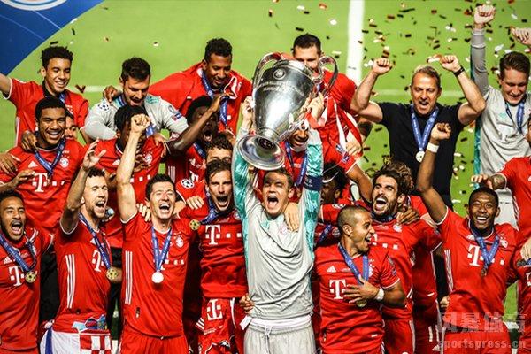 欧冠上赛季冠军是拜仁