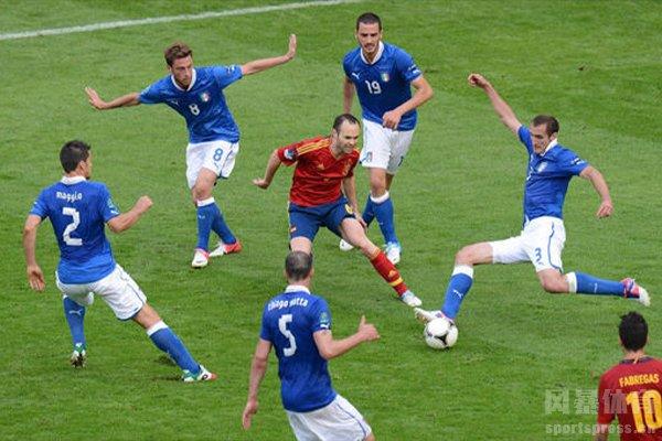 链式防守是非常强的足球防御战术
