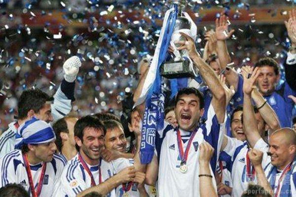 2004年欧洲杯冠军是希腊队