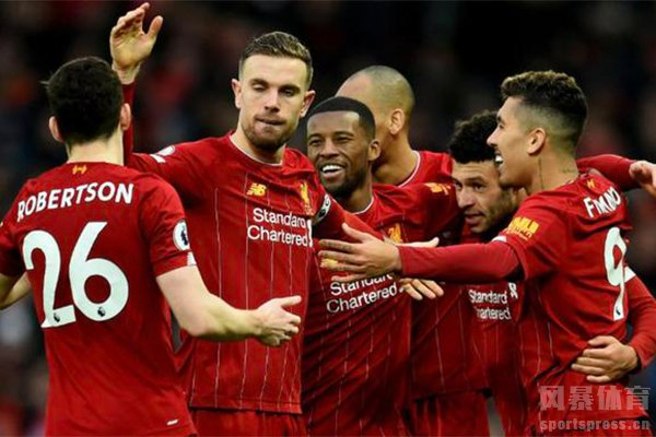 利物浦VS西布朗直播视频及比分预测