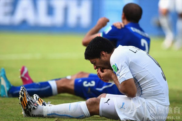 在2018世界杯也是对于咬人事件十分严厉的处罚