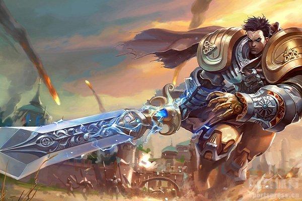 英雄联盟盖伦拥有着极为强大的战斗力