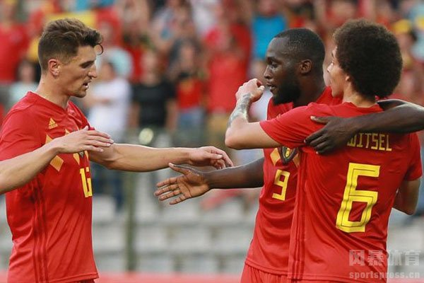2018世界杯三四名决赛比利时队2-0英格兰队