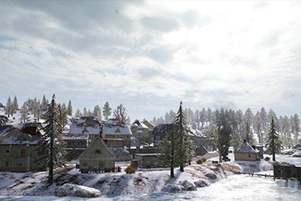 维寒迪是非常美丽的雪地地图