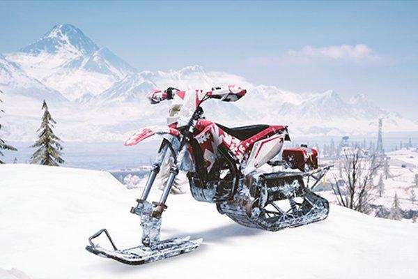 维寒迪地图有着雪地摩托