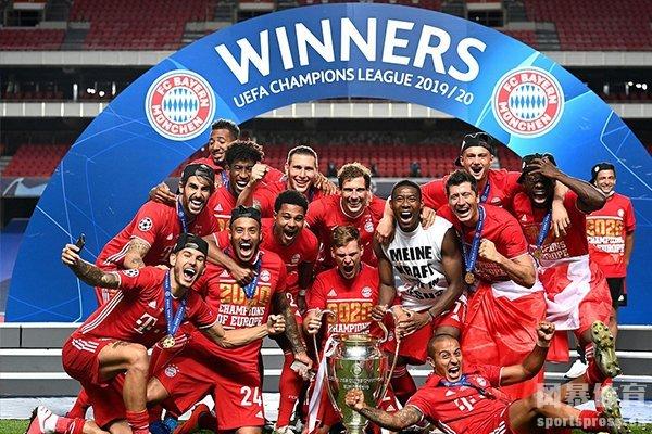 拜仁在本届欧冠仍然是夺冠热门