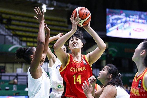 中国女篮在亚洲杯表现极为出色