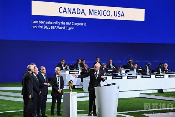 其中三国分为美国、加拿大、墨西哥