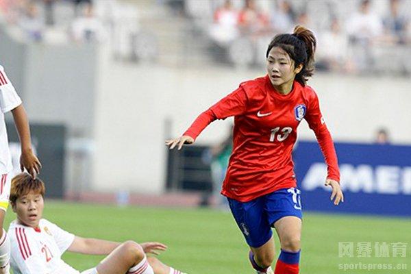 韩国女足在亚洲排名也是中上游
