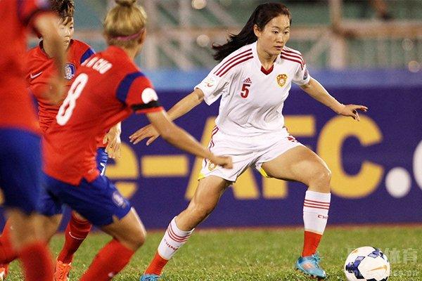 中国女足实力要比韩国女足强