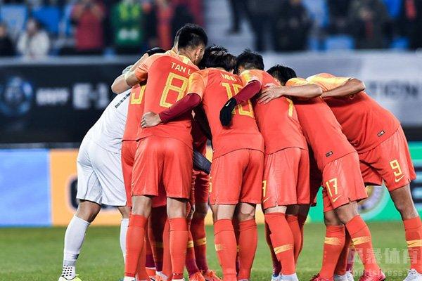 中国男足目前全力准备亚洲预选