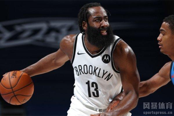 哈登、约基奇当选NBA周最佳球员
