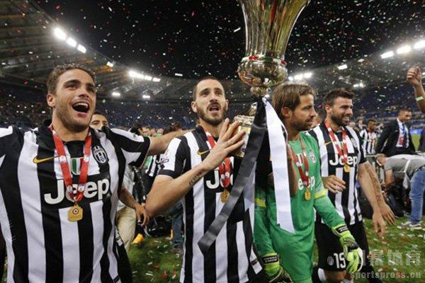 尤文图斯获得过13次意大利杯冠军