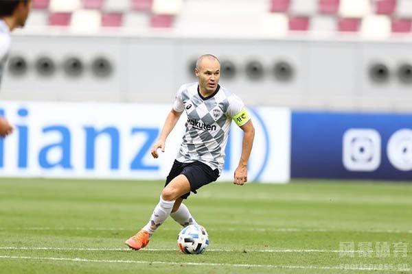 伊涅斯塔非常适合日本联赛的足球体系