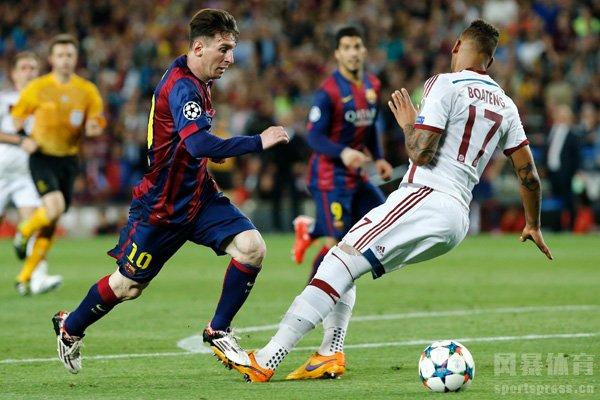 梅西是足球过人的代表性人物