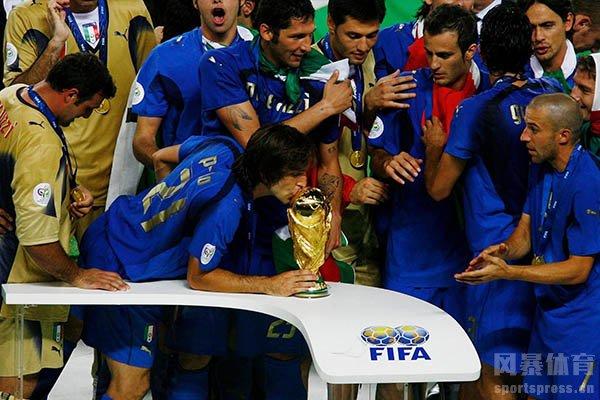 意大利队在2006年获得世界杯冠军