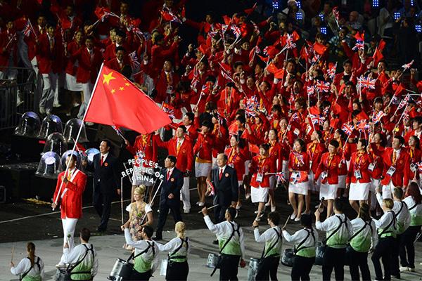 伦敦奥运会奖牌榜前十都有谁?伦敦奥运会奖牌榜中国队表现怎么样?
