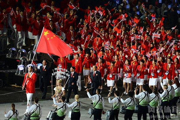中国在伦敦奥运会获得38枚金牌