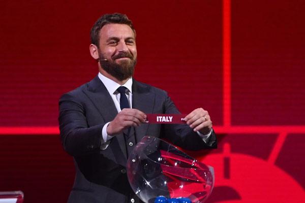 丹尼尔·德·罗西(Daniele De Rossi)在国际足联2022年卡塔尔世界杯