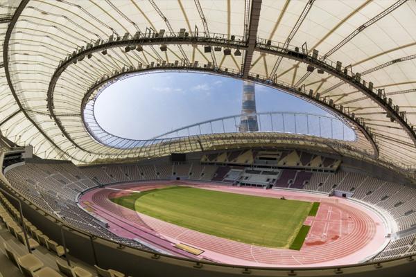 卡塔尔世界杯球场---哈里发国际体育场