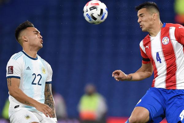 阿根廷1-1巴拉圭