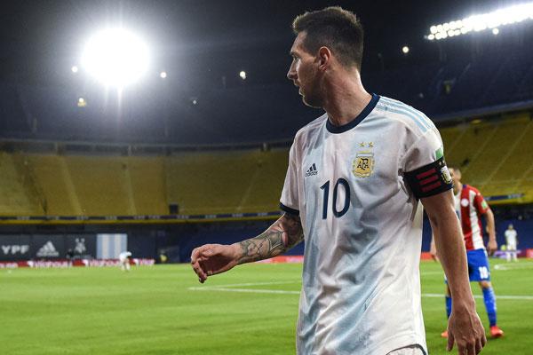 2022卡塔尔预选赛世界杯亮点 阿根廷1-1巴拉圭