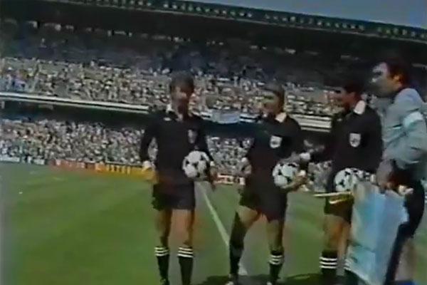 1982年世界杯詹蒂莱犯规至少23次才能防住马拉多纳