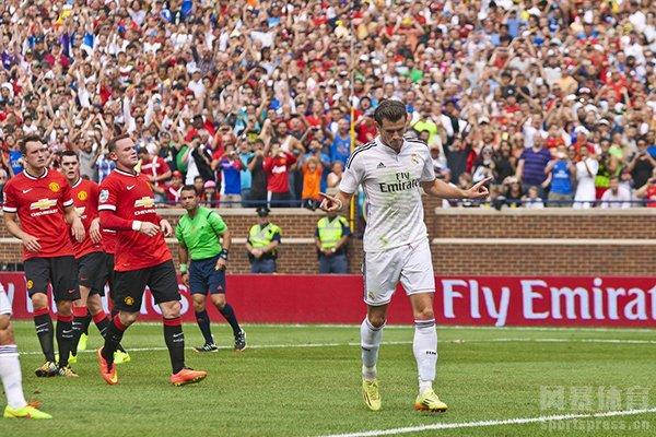 皇马2-1击败曼联拿下欧洲超级杯冠军