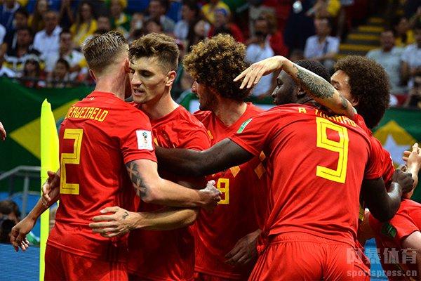 比利时足球队目前排名世界第一