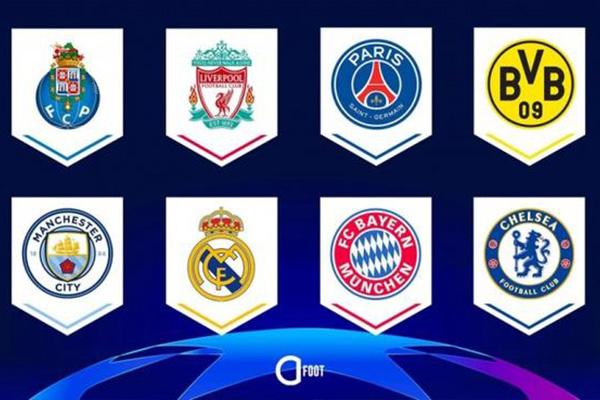 2021欧冠八强都有谁 2021欧冠八强抽签预测