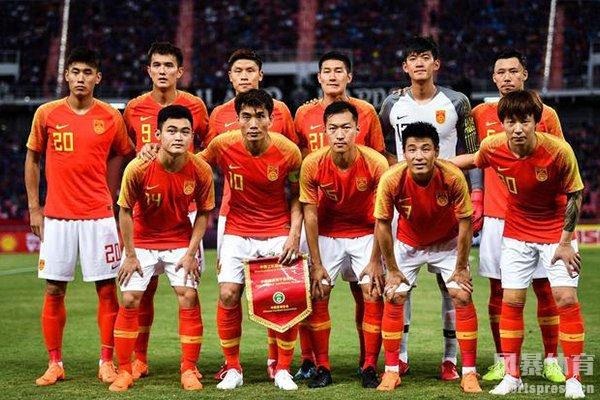 中国男足目前排名世界第75名