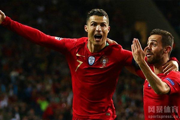 葡萄牙目前排名世界第5