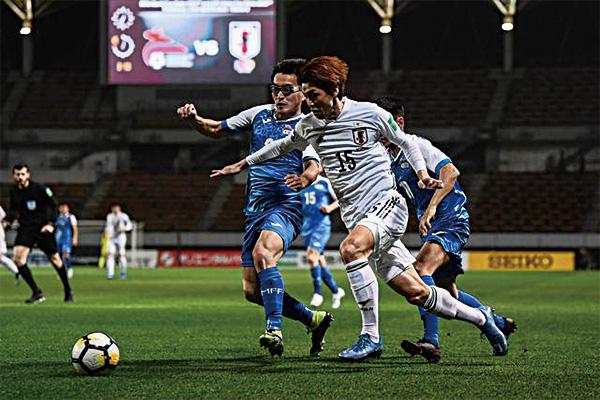 <b>世预赛日本14-0大胜蒙古!大迫勇也完成帽子戏法</b>
