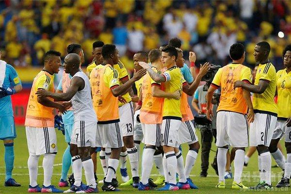 哥伦比亚是南美的强队