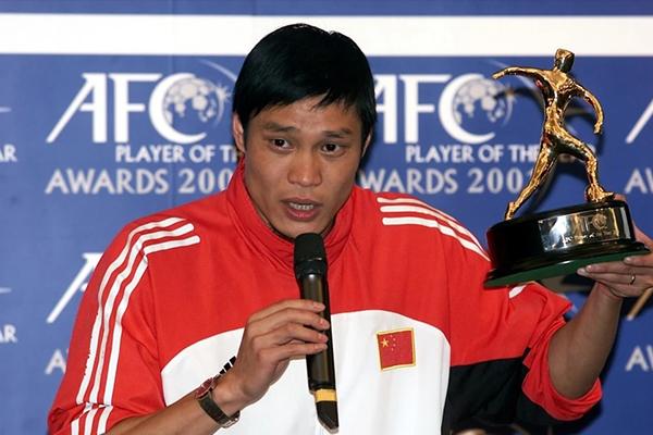 中国亚洲足球先生都有谁?中国亚洲足球先生有多强?