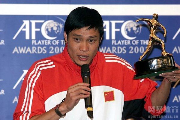 中国获得亚洲足球先生第一位就是范志毅