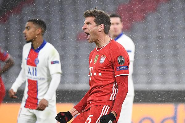 欧冠拜仁2-3巴黎 谁能晋级4强?