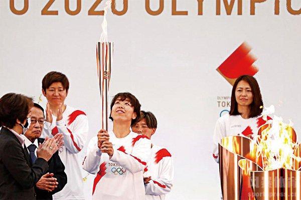 东京奥运圣火传递已经展开