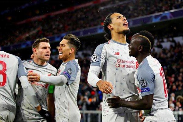 利物浦本赛季夺冠非常艰难