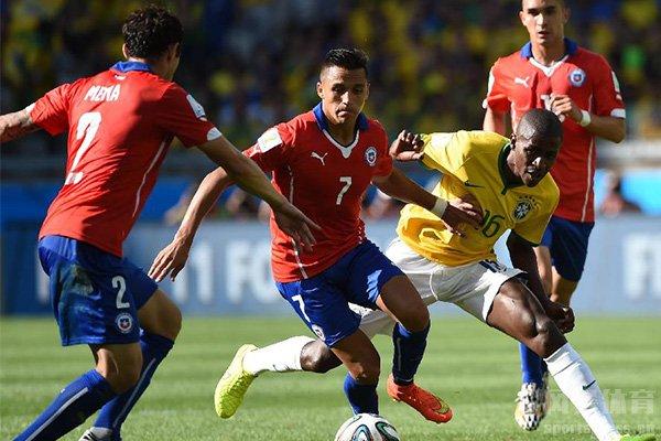 智利足球近些年实力在增强