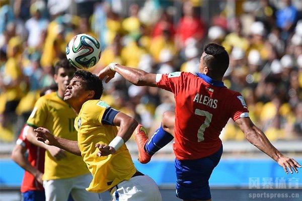 智利队在2016也是获得美洲杯冠军