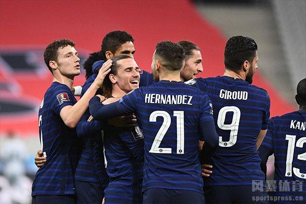 法国队阵容巨星云集