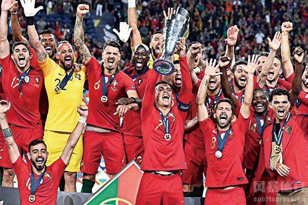葡萄牙成为2019年欧国联冠军