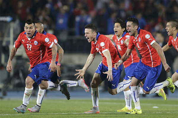 美洲杯智利表现如何?美洲杯智利有几次冠军?