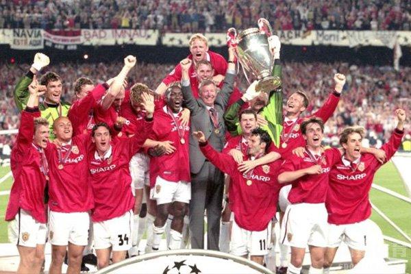 曼联一共有过3次欧冠冠军