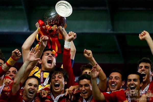 2008欧洲杯西班牙队是冠军