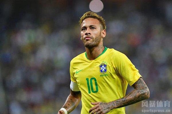 内马尔在巴西队表现只能称得上合格